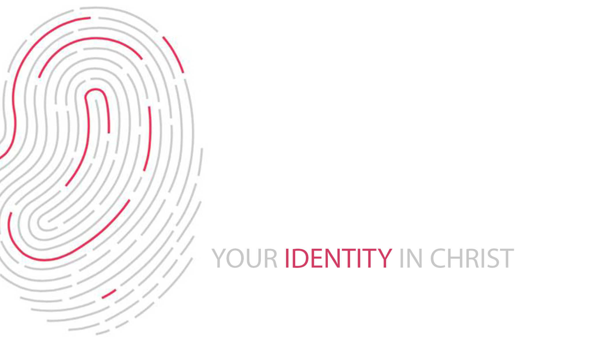 Your Identity in Christ