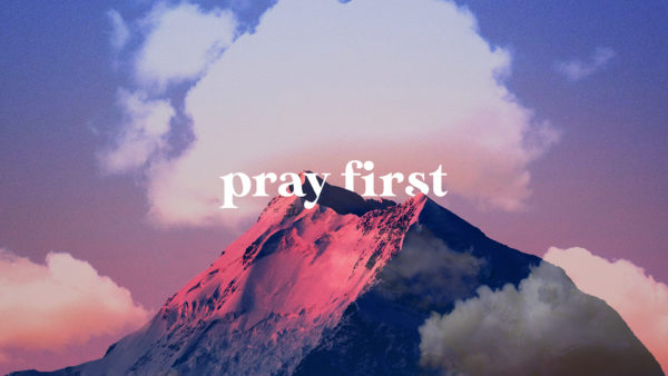 Pray First #3 Image
